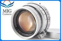 【Excellent+++++】Leica Summicron Ernst Leitz GmbH Wetzlar 5cm F2 From Japan 563
