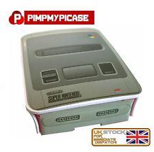 Raspberry Pi White Case Shell for the Raspberry Pi 4B Retro SNES UK