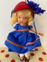 NASB Nancy Ann Storybook Bisque Doll 120 To Market Mother Goose FR Orig Dot Box