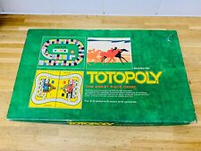 Totopoly Old Horse Racing Game Vintage Board Game By Waddingtons