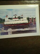 WASHINGTON STATE FERRIES  GREETING CARD PUGET SOUND FERRIES WASHINGTON