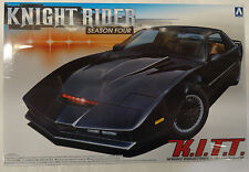 Aoshima Models Knight Rider KITT Car Season 4 1:24 Scale Plastic Model 41307
