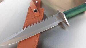 EU Duty FREE! John Rambo I Knife Bowie Gürtelmesser Messer Tracker replica