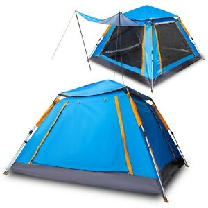 Family Tent Pop Up Tent For Camping Tent Water Resistant Windproof Tent 7 Person