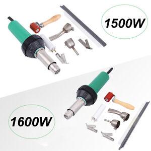 1500W/1600W Hot Air Plastic Welding Gun Welder Torch Heat Pistol Kit 220V Samger