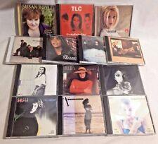 Lot of 25 CDs Female Singers Soundtrack Whitney Fergie Cranberies Christina A