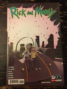 Rick & Morty #60 Kyle Starks (Oni Press) Free Combine Shipping