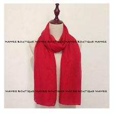 100% Cotton Plain Wrap Shawl Stole Scarf Many Colours Available Pashmina
