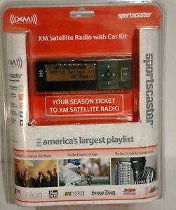 Sirius XM Radio Sportscaster Satellite Radio Car Kit RVK101 FM Transmitter NEW