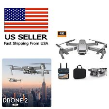 Drone E68 Quadcopter with CASE UPGRADED Edition Selfie 4K Camera WIFI Drone Pro