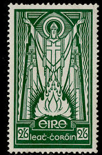 More details for ireland gvi sg123, 2s 6d emerald-green, m mint. cat £40. ordinary
