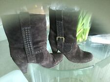 Brown Boots 39 With Studs