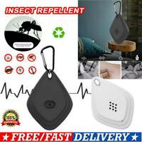 Portable Flealess Ultrasonic Flea Tick Repeller AntiFlea Pest Cockroach Repeller