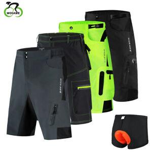 Baggy Cycling Shorts Men MTB Mountain Bike Short Pants Padded Shorts Gifts