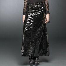 Queen of Darkness Black Vinyl Skirt SK1-172/09 Gothic Fetish