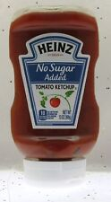 """Heinz """" No Sugar Added """" Tomato Ketchup ~ 13 oz Squeeze Bottle"""