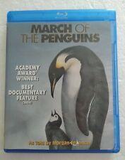 March of the Penguins (Blu-ray Disc, 2005) Español & English Language.