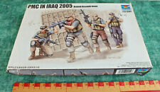 TRUMPETER 1/35 PMC IN IRAQ 2005 ARMED ASSAULT TEAM ~ SOME PARTS OFF SPRUES