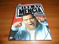 Mind of Mencia - Season Two Uncensored (DVD, 2007, 2-Disc) Used 2 2nd Two