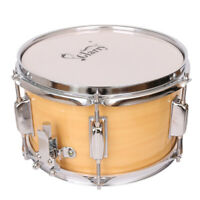 """Glarry Snare Drum Head 10'' x 6"""" with Drumstick Strap & Key for Student Band"""