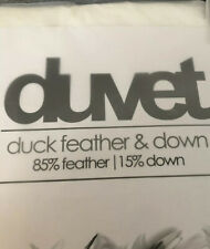 Duck Feather And Down Duvet - 13.5 Tog - Double