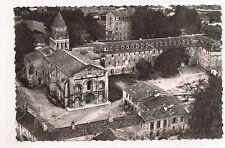 saintes  vue aérienne  église romane de l'abbaye  monument historique