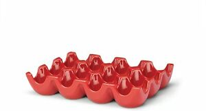 RACHAEL RAY 12-CUP EGG TRAY - RED