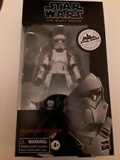 Star Wars BLACK SERIES Mountain Trooper (Galaxy Edge/Target Exclusive)2020 6Inch