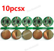 10pcs 3A BMS Protection PCB Board for 1S 3.7V 18650 Li-ion lithium Battery Cell