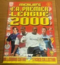 *** Merlin Premier League 2000 - Part Complete Album - 30 / 540 Stickers ***