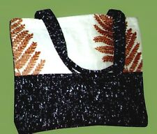 Forest Fern Carpet Bag Unique Stylish Fashionable 4uni/college/school/work/hols.