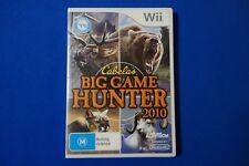 Cabela's Big Game Hunter 2010 - Wii - Free Postage!!