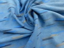 sheep skin Lambskin leather hide Denim Blue w/Brushed Streaks Print Nubuck