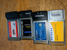 Lot of laptop Pcmcia Pc cards Usb 2.0, wireless G network cards Free Shipping