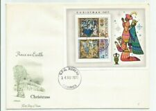 Dominica      GPO Roseau     Christmas 1977     MS      FDI      First Day Cover