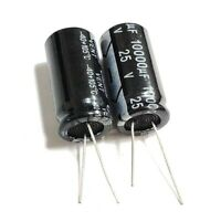 25V 10uF 100uF 220uF 330uF 470uF 1000uF 2200uF 10000uF Electrolytic Capacitor