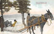 Over The Marshall Pass, Fairbanks-Valdez Route, Alaska 1909 Vintage Postcard