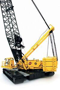 """Manitowoc 16000 Crawler Crane  - """"KIEWIT"""" - 1/50 - TWH #016-01029"""