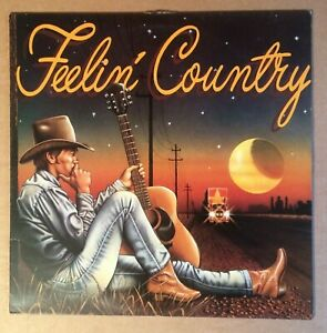 """Various Country Artists """"Feelin' Country"""" Premier Records, LP, Album."""