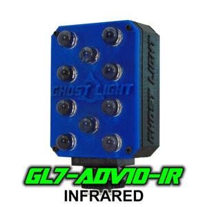 Ghost Light GL7-ADV IR Infrared LED Night Vision Camera Light Paranormal - Blue