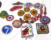 25 Vintage Scout Patches - Wisconsin Estate - Bicentennial Scribe Camporee