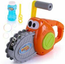 Bubble Maker Gun for Kids Outdoor Chainsaw Bubble Blower Machine  USA SELLER