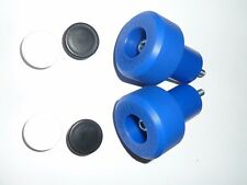 KAWASAKI ZX9R ZX9 R 1998 - 2003 BLUE CRASH MUSHROOMS SLIDERS BUNGS BOBBINS R9D4
