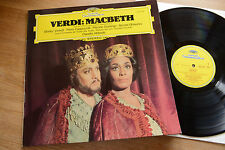 VERDI Macbeth highlights Verrett Domingo ABBADO LP DGG 2537 045