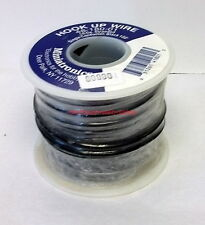Miniatronics~#48-180-01~Black~100' Hook Up Wire~18 AWG Stranded~Single Conductor