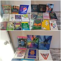 Lot of 25 Teacher Educator Classroom Learning Self Help Improvement Books