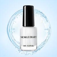 NICOLE DIARY 6ml 2-in-1 Base Coat Top Coat Peel Off Nail Art Varnish
