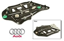 NEW Audi A4 S4 03-09 Rear Driver Left Window Regulator Genuine OES 8H0 839 461 A
