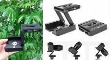 In alluminio pieghevole Fotocamera Z Desktop Supporto Treppiede Testa pan & tilt
