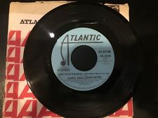 PROMO 45 Hall & Oates - Can't Stop The Music   ATLANTIC VG+